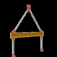 Металлическая часть полотенец траверсы и коромысло ПМ – 824 ф.630-820 25тн