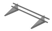 Снегозадержатель трубчатый дл. 1000 мм (7004) ROOFRetail