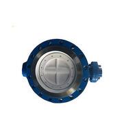 Затвор tws серия nd (межфланцевый, корпус сталь, диск нерж, nbr) ру16 ду125