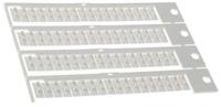 Блок маркировок для реле типов 60.12 и 60.13