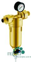 Фильтр Гейзер-Бастион 122 3/4 (с манометром для горячей воды, d60)