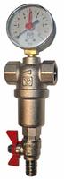 Фильтр самопромывной с манометром 3/4 Valtec VT 389, 250/1000 мкм