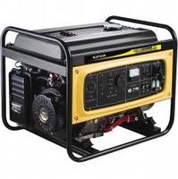 Генератор бензиновый однофазный 5,5кВА, бак 25 л., расход 2 л/ч KGE6500E
