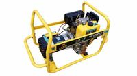 Генератор дизельный 1ф., 5,5 кВт, бак 5,5 л., расход 1,3 л/ч. воздушное, электростартер