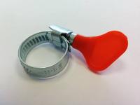 Хомут с ключом оцинкованный MGF 25-40 W1 ( уп. 25 шт. )