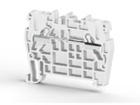 Клеммник пружинный быстрозажимной (Push in), 2,5 мм.кв. (серый), PYK2,5