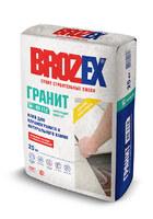 Клей для керамогранита и натурального камня KS 112 Brozex 25кг уп=48шт
