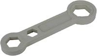 Ключ для пробок и переходников радиаторов 1/2-1-1.1/2 (нейлон), MP-У
