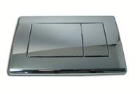 Кнопка управления хром-глянцевая M271 для инсталляции Садромодуль