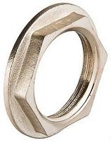 Контргайка 3/4 ВР с буртиком латунь/никель Vt655