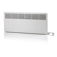 Конвектор панельный настенный 1,0 кВт 230В механический термостат защита от перегрева евровилка IP21 FinnHeat