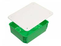 Коробка монтажная разветвительная 200х160х70 мм с крышкой для полых стен металл. лапки, IP 30