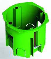 Коробка монтажная установочная 68х60 мм для полых стен мет. лапки, IP30