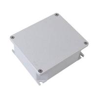 Коробка ответвительная алюминиевая окрашенная,IP66, RAL9006, 294х244х114мм