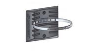 Кронштейн (РР) со стальным хомутом для крепления расширительных баков отопления 14л.Джилекс