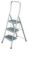 Лестница складная-стремянка, 3 ступеньки TOPPY XL