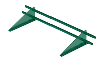 Снегозадержатель трубчатый дл. 1000 мм (6005) ROOFRetail