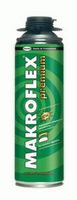 Очиститель монтажной пены Makroflex Premium Cleaner 500 мл. в баллоне для удаления неотвердевшей п
