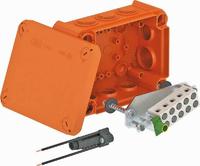 Огнестойкая распределительная коробка 150x116x67 мм. Тип: T 100 ED 10-5