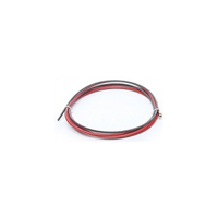 Канал стальной (красный) 1,0-1,2 mm, 5 м