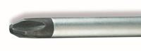 Отвертка крестовая PH2 195мм неизолированная