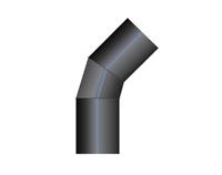 Отвод ПНД 45-60 сварной PN10 SDR17