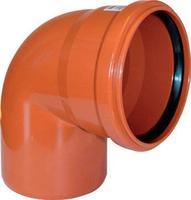 Отвод канализационный наружный 110/87 Хемкор