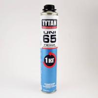 Пена монтажная Tytan 65 UNI . в баллоне, зимняя, под пистолет, 750 мл, -10С - +30С