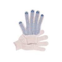 Перчатки 5 нитка х/б без ПВХ белые
