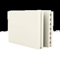 ПГП 667*500*80 Плиты гипсовые для перегородок полнотелые Гипсополимер 1уп=30шт (0,3335м2)