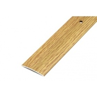 Порожек стыкоперекрывающий средний (ПС03, 1350, 082, дуб светлый) 1,35м*37мм