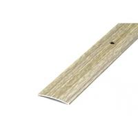 Порожек стыкоперекрывающий средний (ПС03, 1350, 087, дуб беленый) 1,35м*37мм