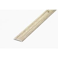 Порожек стыкоперекрывающий узкий (ПС01, 1350,087, дуб беленый) 1,35м*25 мм