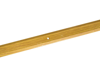 Порожек стыкоперекрывающий узкий (ПС01, 900,082, дуб светлый) 0,9м*25 мм