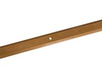 Порожек стыкоперекрывающий узкий (ПС01, 900,083, бук) 0,9м*25 мм