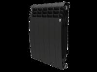 Радиатор биметаллический Royal Thermo BiLiner 500 new/Noir Sable (6 секц. )