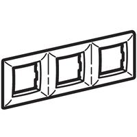 Рамка на 2+2+2 модуля (трехместная), белая для коробок PDD-N60