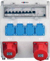 Распределительный силовой модуль IP44, строительный