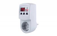 Реле контроля напряжения розеточное 160-280В 16А тип РН-116
