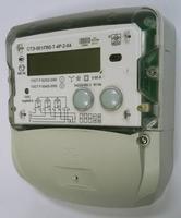 Счётчик трехфазный многотарифный 5-60А, 380В