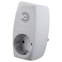 Сетевой фильтр розеточный с заземл со шторками белый (10/60/720) SF-1e-W