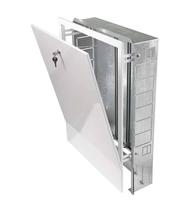 Шкаф коллекторный встроенный ШРВ-2 ( для коллекторов 6-7 вых. ) Stout 670*125*596