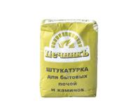 Штукатурка Печник для печных работ (+600 С), 10кг, 96шт