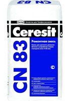 Смесь ремонтная Церезит CN 83 для бетонных полов и стяжек,5-35м 25 кг 1уп.=48шт