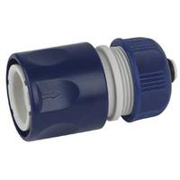 Соединитель (Коннектор) с аквастопом для шланга 12 мм (1/2), пластик (50/2) GREEN APPLE ЕСО