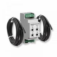 Терморегулятор на профиль DIN д/систем антиоблед. 16А Ensto д/пола + д/воздуха -30/+15*СТерморегулятор д/систем антиоблед, 16А,