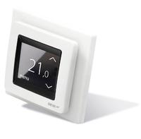 Терморегулятор встраиваемый сенсорный DEVIreg Touch,полярно-белый, (tпол=+5+45 C, tвозд.=+5+35 С) 16А