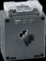 Трансформатор тока 150/5А 5ВА кл.0,5 под шину разм. до 30х10(30х10)мм под диам.кабеля 20 мм серия ТТИ- 30