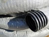 Труба дренажная 200 мм фильтре геотекстиль
