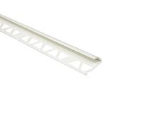 Угол наружный белый д/кафеля 9-10мм., 2,5м, Уп=25шт.
